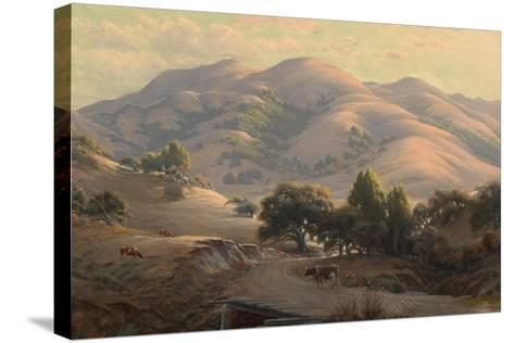 Untitled (Landscape with Mount Tamalpais), 1908-Jack Wisby-Stretched Canvas Print