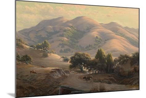 Untitled (Landscape with Mount Tamalpais), 1908-Jack Wisby-Mounted Giclee Print