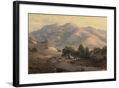 Untitled (Landscape with Mount Tamalpais), 1908-Jack Wisby-Framed Art Print