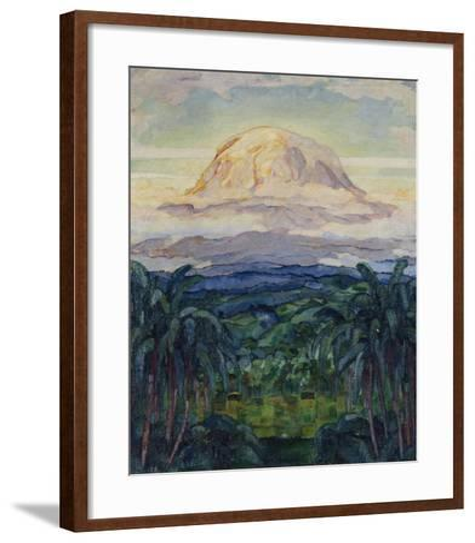 Kilimanjaro: German East Africa, 1914-Walter von Ruckteschell-Framed Art Print