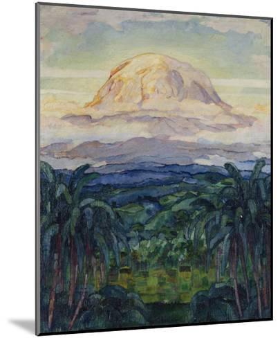 Kilimanjaro: German East Africa, 1914-Walter von Ruckteschell-Mounted Giclee Print