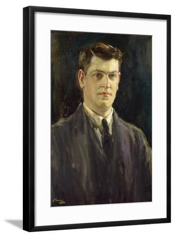 Michael Collins-Sir John Lavery-Framed Art Print
