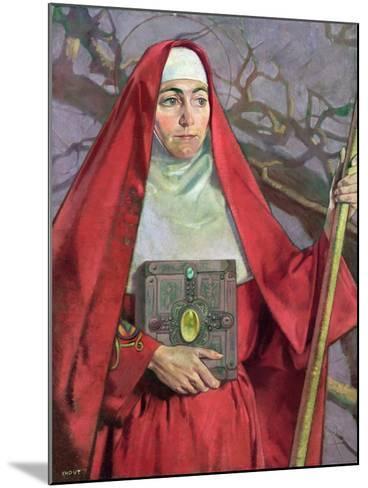 Saint Brigid-Patrick Joseph Tuohy-Mounted Giclee Print
