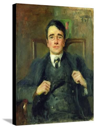 William G. Fay, 1904-John Butler Yeats-Stretched Canvas Print