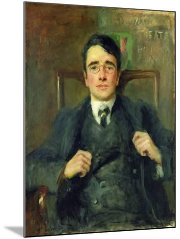 William G. Fay, 1904-John Butler Yeats-Mounted Giclee Print