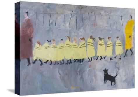 Walking Bus I, 2011-Susan Bower-Stretched Canvas Print
