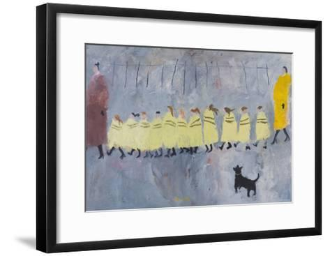 Walking Bus I, 2011-Susan Bower-Framed Art Print