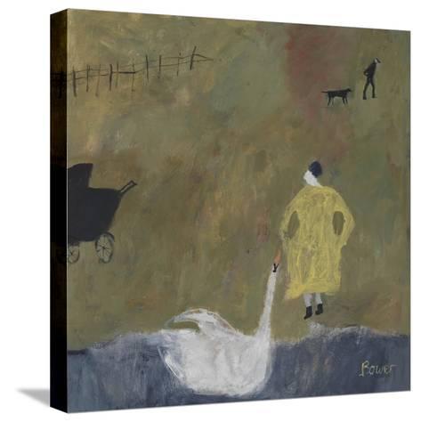 Leda, 2011-Susan Bower-Stretched Canvas Print