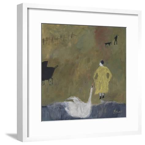 Leda, 2011-Susan Bower-Framed Art Print