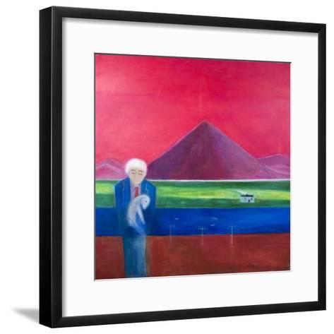 Craigie Going Home, 2011-Roya Salari-Framed Art Print