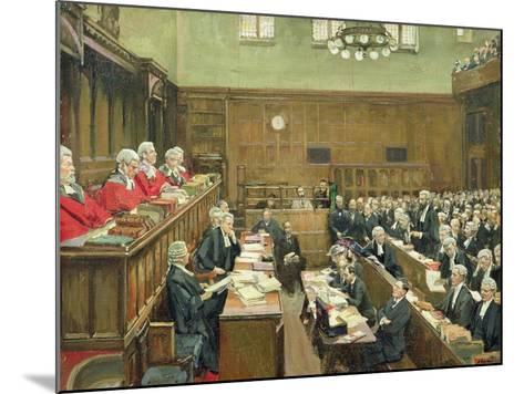 The Court of Criminal Appeal, London, 1916-Sir John Lavery-Mounted Giclee Print