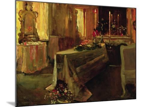 'It Is Finished', 5th Jan 1935-Sir John Lavery-Mounted Giclee Print
