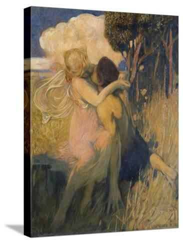 Idyll, c.1908-11-Lawrence Koe-Stretched Canvas Print