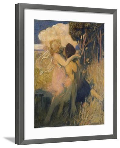 Idyll, c.1908-11-Lawrence Koe-Framed Art Print