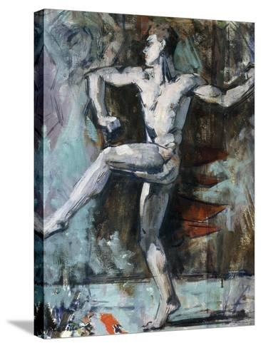 The Dancer-Francis Campbell Boileau Cadell-Stretched Canvas Print