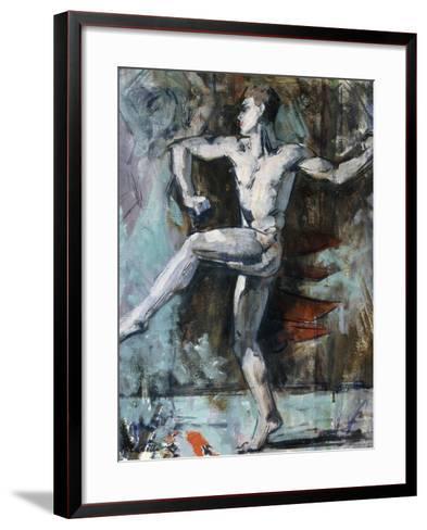 The Dancer-Francis Campbell Boileau Cadell-Framed Art Print