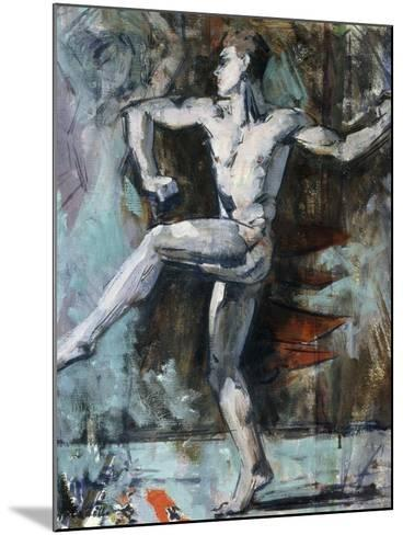 The Dancer-Francis Campbell Boileau Cadell-Mounted Giclee Print