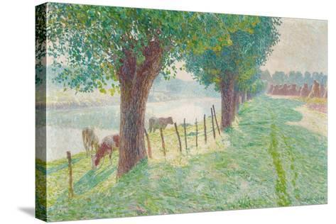 End of August, 1909-Emile Claus-Stretched Canvas Print