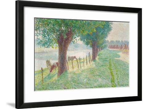 End of August, 1909-Emile Claus-Framed Art Print
