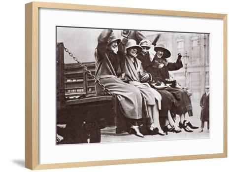 A Twopenny Tailboard Trip, May 1926-English Photographer-Framed Art Print