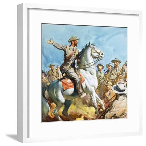 Boers-James Edwin Mcconnell-Framed Art Print