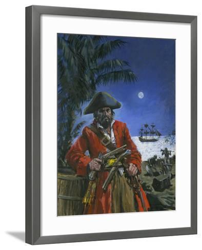 Captain Kidd-Graham Coton-Framed Art Print