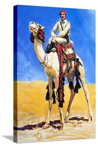 General Gordon of Khartoum-Graham Coton-Stretched Canvas Print