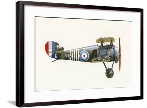 Sopwith 7F 1 Snipe-English School-Framed Art Print