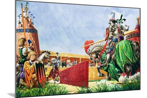 The Tournament-Peter Jackson-Mounted Giclee Print