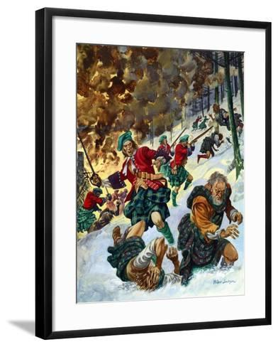 The Massacre of Glencoe-Peter Jackson-Framed Art Print