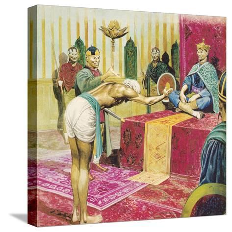Sinbad the Sailor-Don Lawrence-Stretched Canvas Print