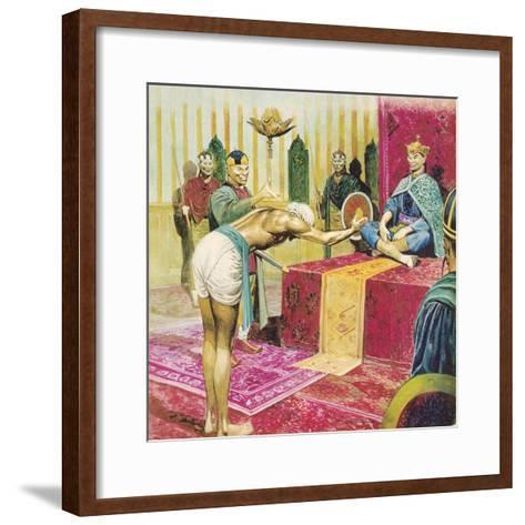 Sinbad the Sailor-Don Lawrence-Framed Art Print
