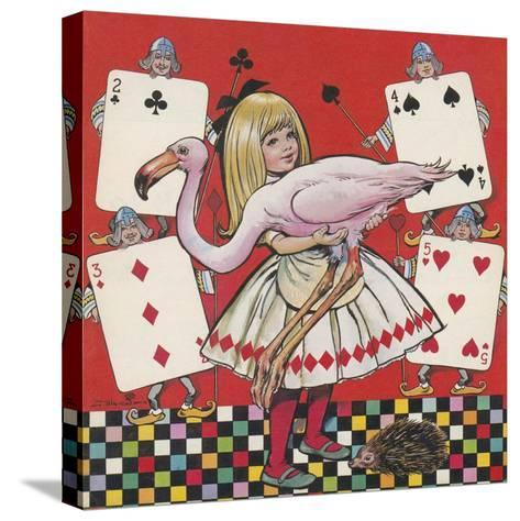 Alice in Wonderland-Jesus Blasco-Stretched Canvas Print