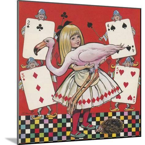 Alice in Wonderland-Jesus Blasco-Mounted Giclee Print