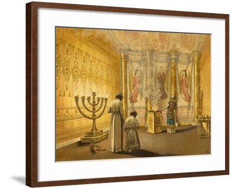 Interior of the Tabernacle-English School-Framed Art Print