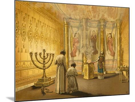 Interior of the Tabernacle-English School-Mounted Giclee Print
