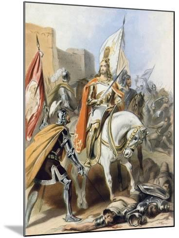 The Meeting of Emmanuel and Captain Credence-Gustav Bartsch-Mounted Giclee Print