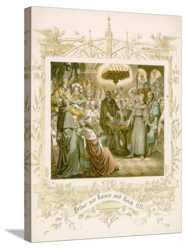 Life of Martin Luther-Gustav Ferdinand Leopold Konig-Stretched Canvas Print