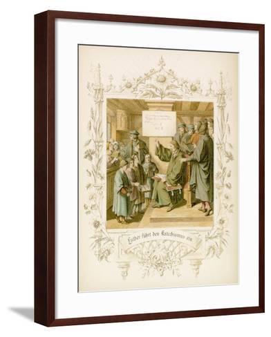 Life of Martin Luther-Gustav Ferdinand Leopold Konig-Framed Art Print