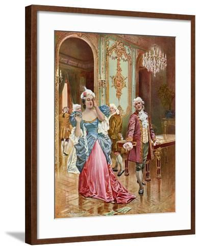 La Traviata, Act II Scene IV-William De Leftwich Dodge-Framed Art Print