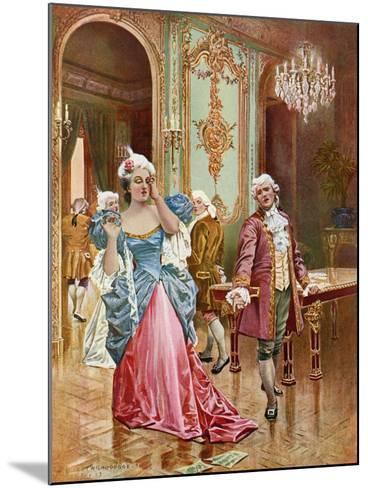 La Traviata, Act II Scene IV-William De Leftwich Dodge-Mounted Giclee Print