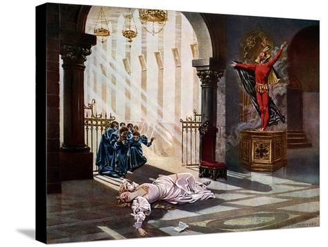 Faust, Act IV Scene V-William De Leftwich Dodge-Stretched Canvas Print