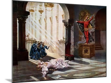 Faust, Act IV Scene V-William De Leftwich Dodge-Mounted Giclee Print