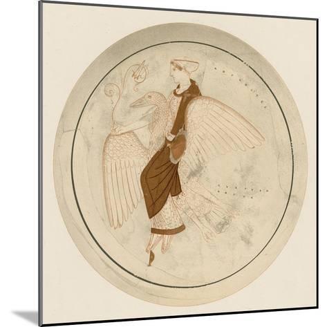 Aphrodite on the Swan-English School-Mounted Giclee Print