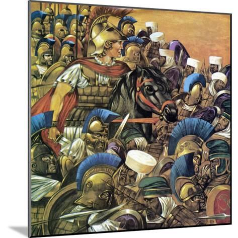Alexander the Great-Richard Hook-Mounted Giclee Print