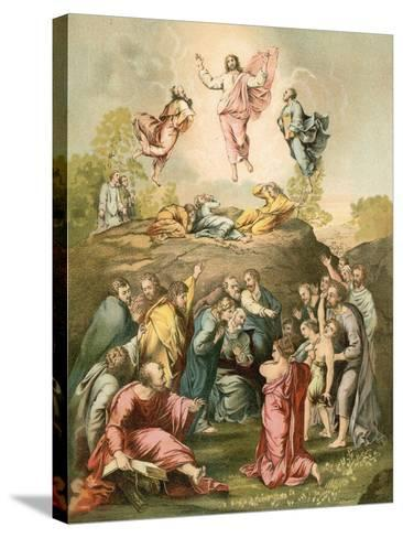 The Transfiguration-Raphael-Stretched Canvas Print