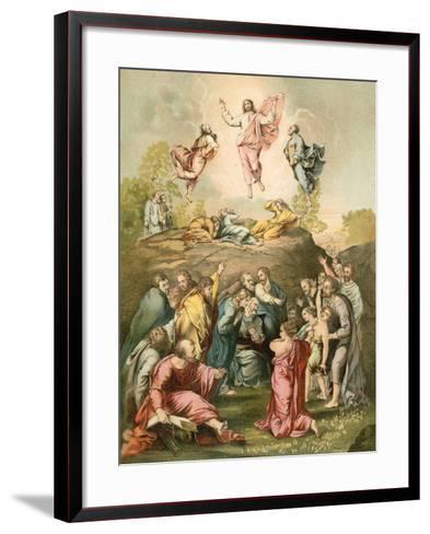 The Transfiguration-Raphael-Framed Art Print