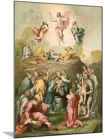 The Transfiguration-Raphael-Mounted Giclee Print