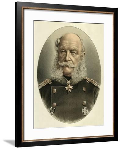 William I, Emperor of Germany-English School-Framed Art Print