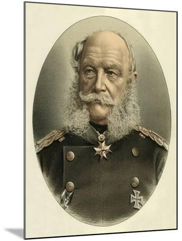 William I, Emperor of Germany-English School-Mounted Giclee Print